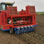 Рассадопосадочные машины для растений в кубиках Полуавтоматическая рассадопосадочная машина Ferrari FAST BLOCK