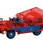 Рассадопосадочные машины для растений в кубиках Самоходная полуавтоматическая рассадопосадочная машина Ferrari ROTOSTRAPP