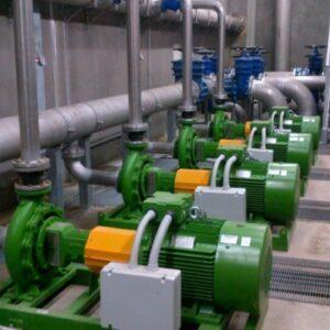 Электрическая насосная станция Irrimec, мощность 220 л.с.